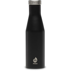MIZU S4 Insulated Bottle with Stainless Lid 400ml Enduro Black